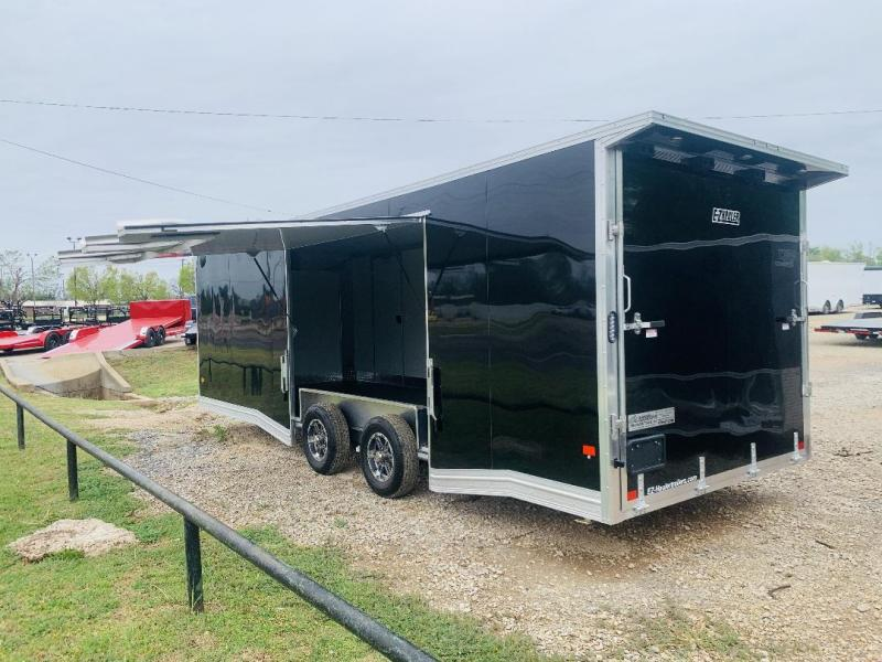 2021 ALCOM8.5' X 24' TANDEM AXLE ALUMINUM ENCLOSED