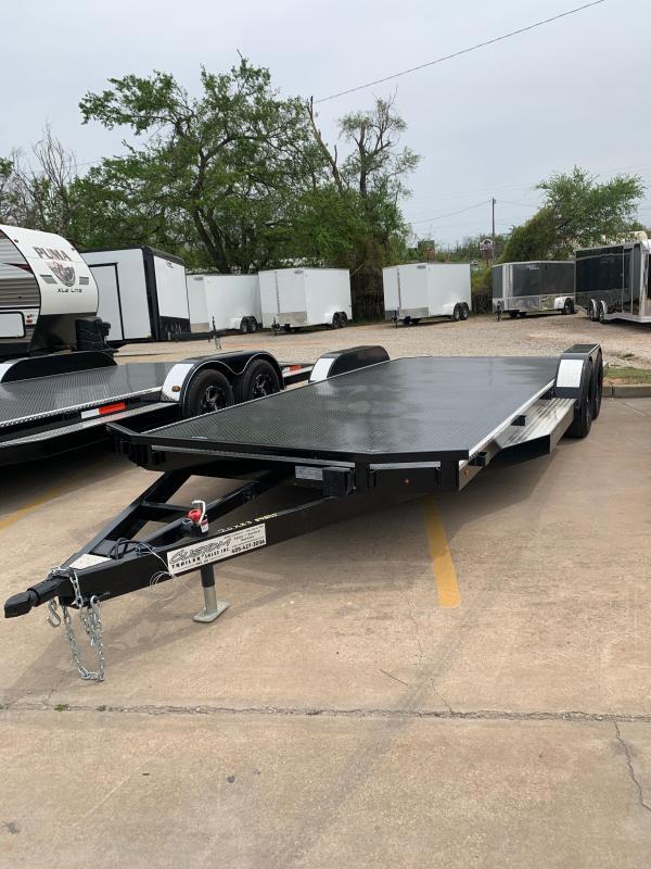 """2021 HP MFG LLC 20' X 83"""" ELITE SERIES STEEL FLOOR CAR HAULER"""