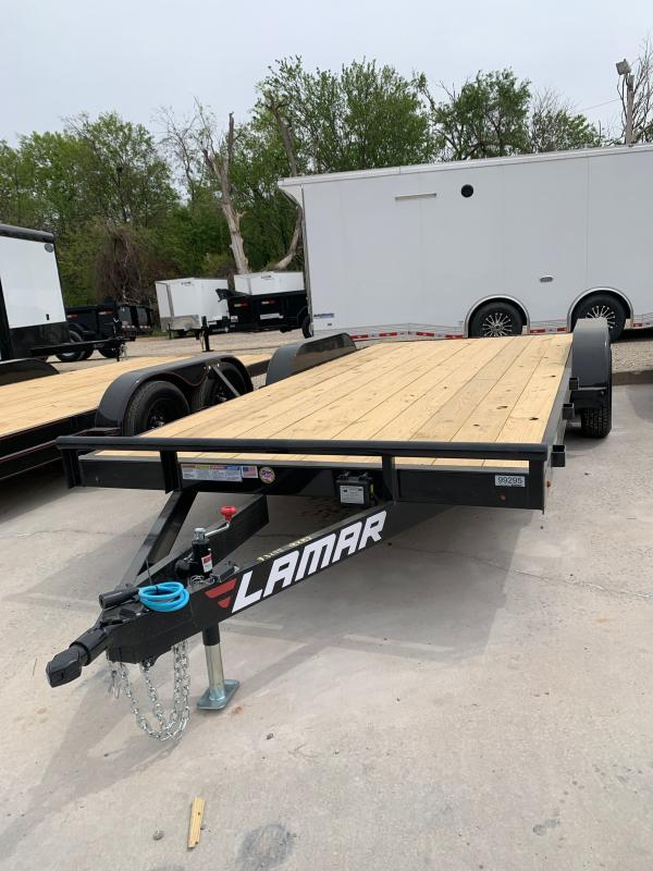 2021 Lamar Trailers CE TANDEM AXLE CAR HAULER Car / Racing Trailer