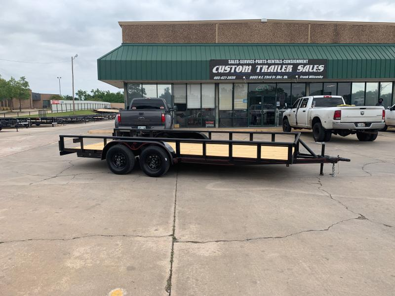 "2021 Lion 18' X 83"" PIPETOP UTILITY TRAILER"