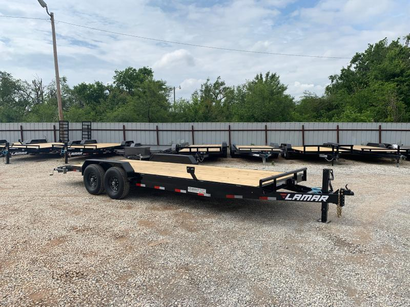 "2021 Lamar Trailers H6 22' X 83"" BUMPER PULL EQUIPMENT HAULER"