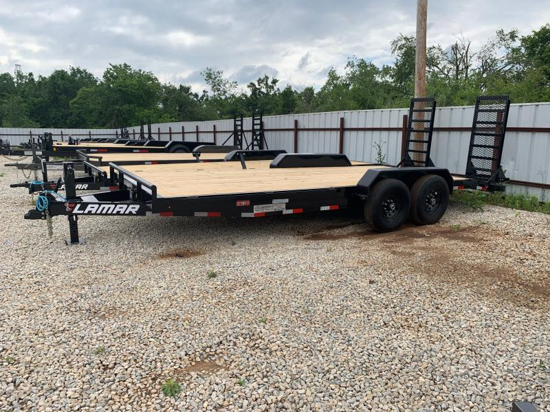 "2021 Lamar Trailers H6 20' X 83""  BUMPER PULL EQUIPMENT HAULER"
