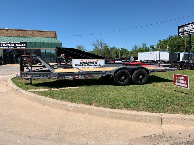 "2021 Diamond C Trailers 20' X 82"" BUMPER PULL EQUIPMENT TILT"