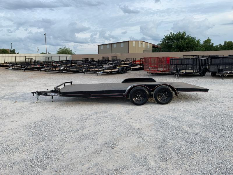 2021 MP Custom 18X83 TANDEM AXLE STEEL FLOOR CAR HAULER