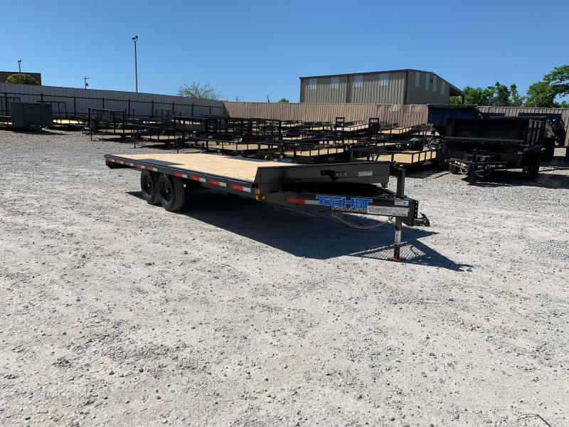 """2021 Top Hat Trailers 20' X 102"""" BUMPER PULL DECKOVER"""