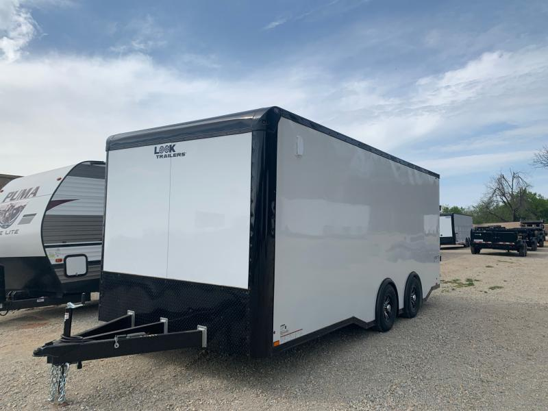 2022 LOOK IGNITE 8.5' X 20' TANDEM AXLE ENCLOSED