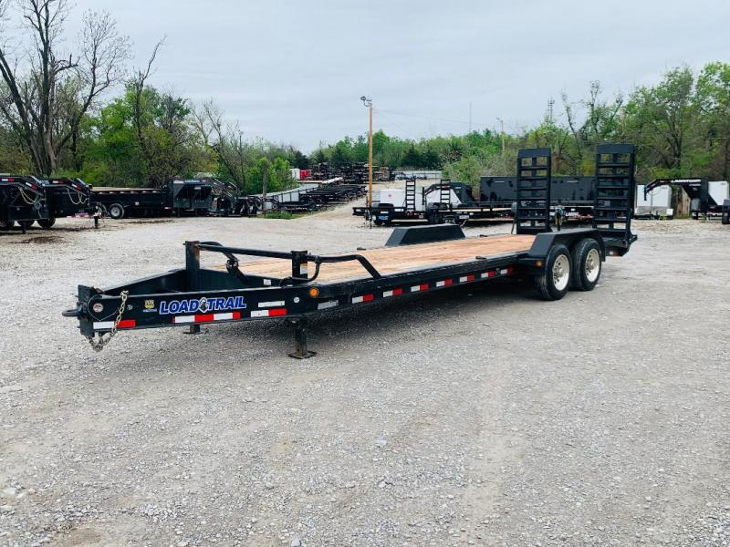 "USED 2019 LOAD TRAIL 24' X 82"" I-BEAM FRAME EQUIPMENT HAULER"