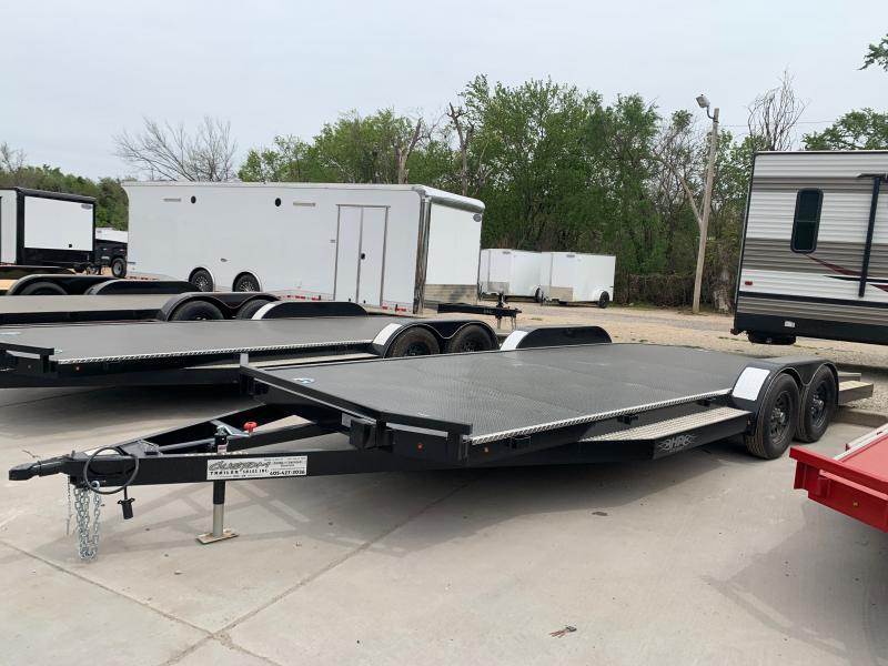 """2021 HP MFG, LLC 20' X 83"""" TANDEM AXLE STEEL FLOOR CAR HAULER"""