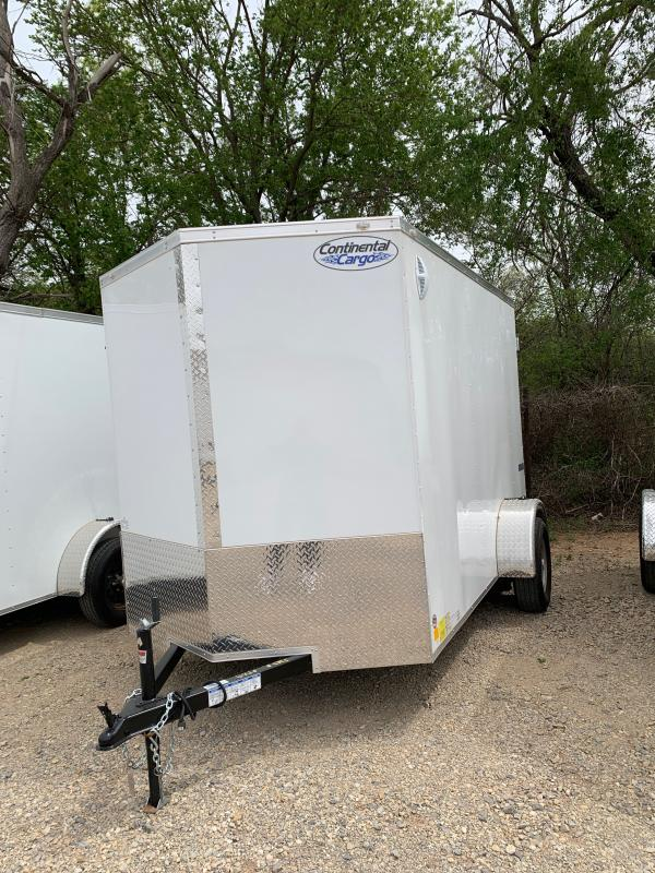 2021 Continental Cargo TXVHW 6' X 10' SINGLE AXLE ENCLOSED TRAILER