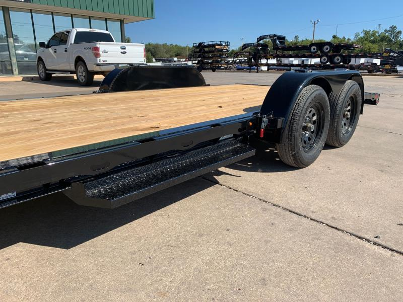 2022 Diamond C GTF 18 X 83 TANDEM AXLE WOOD FLOOR CAR HAULER