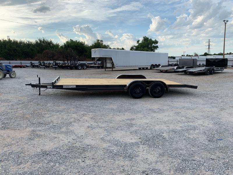 2021 MP Custom 20X83 TANDEM AXLE WOOD FLOOR CAR HAULER