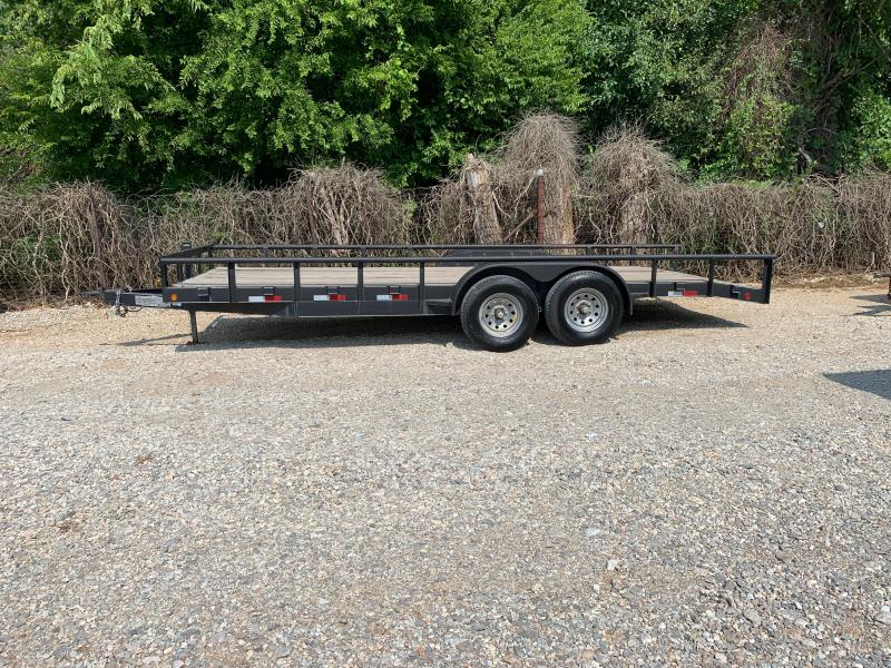 USED 2012 Road Boss 20 X 83 TANDEM AXLE UTILITY TRAILER