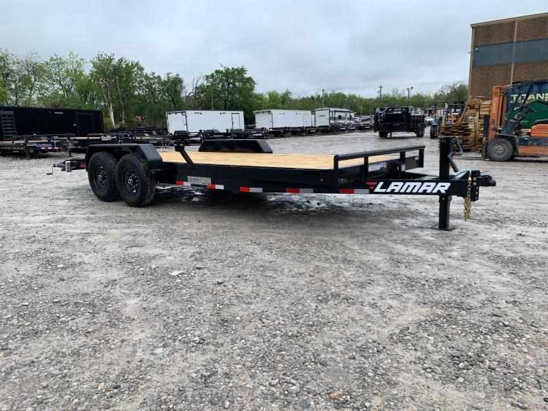 "2021 Lamar Trailers H6 20' X 83"" TANDEM AXLE EQUIPMENT TRAILER"