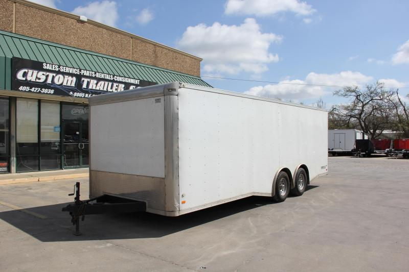 8.5' X 24' TANDEM AXLE ENCLOSED TRAILER