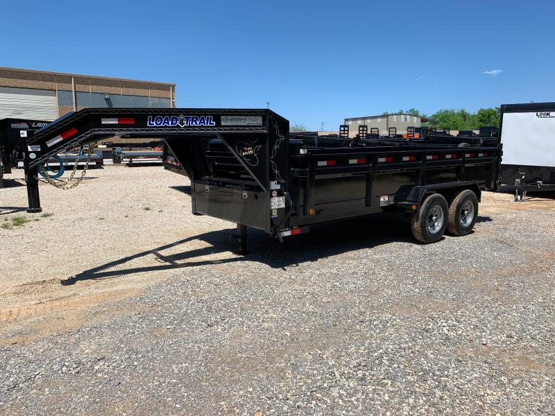 "2021 Load Trail GD 16' X 83"" GOOSENECK DUMP"