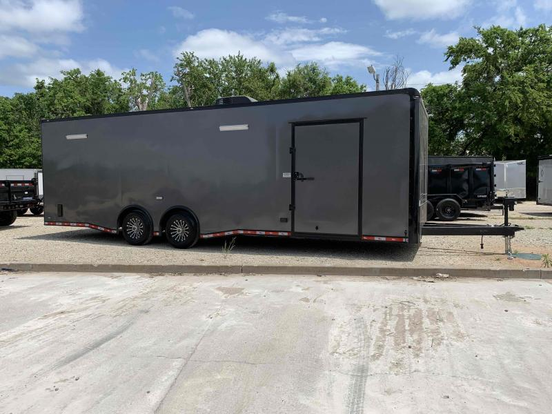 USED 2020 Continental Cargo 28' X 8.5 ENCLOSED RACE TRAILER