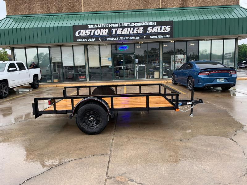 "2021 Top Hat Trailers DSA 10' X 77"" SINGLE AXLE UTILITY"