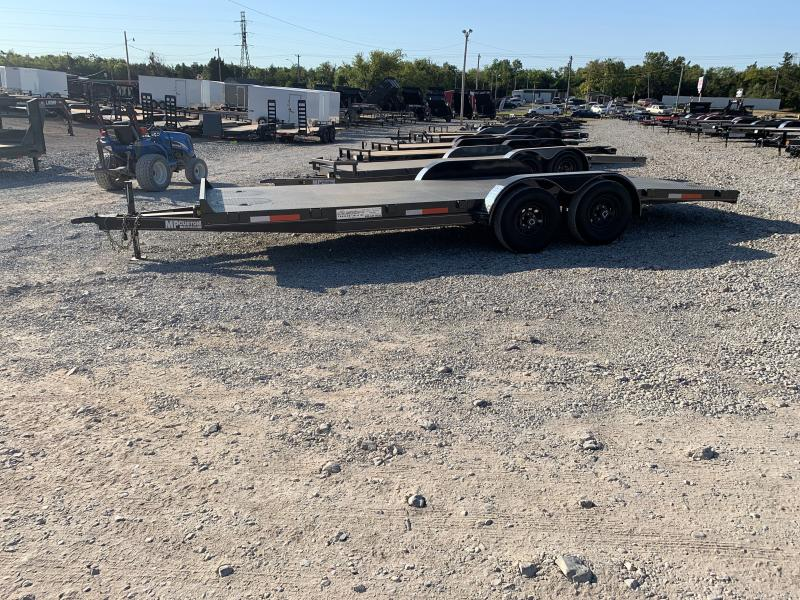 2021 MP Custom 20 X 83 TANDEM AXLE STEEL FLOOR CAR HAULER