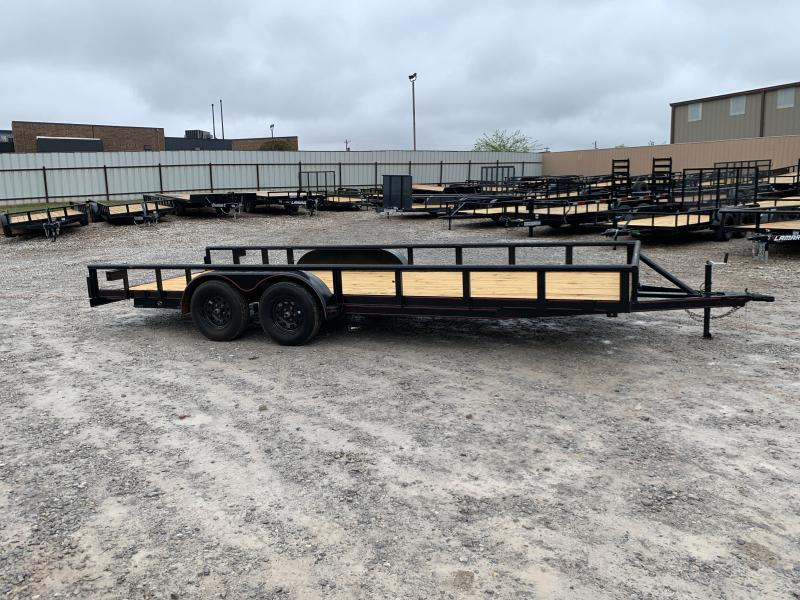 """2021 LION MFG 20' X 83"""" LOADED PIPE TOP UTILITY"""