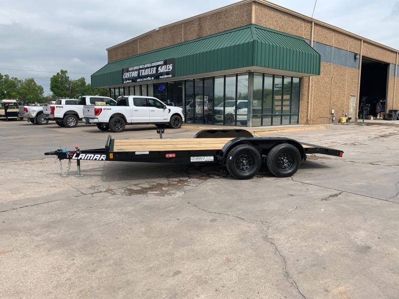 "2021 Lamar Trailers CE 16' X 83"" WOOD FLOOR CAR HAULER"