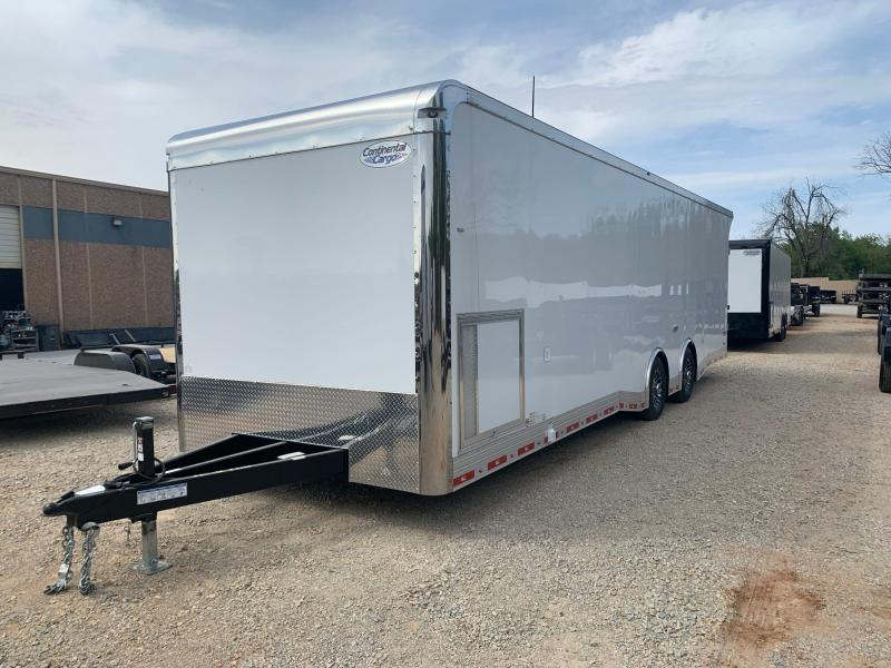 2021 CONTINENTAL CARGO TXAM 8.5' X 30' TANDEM AXLE ENCLOSED