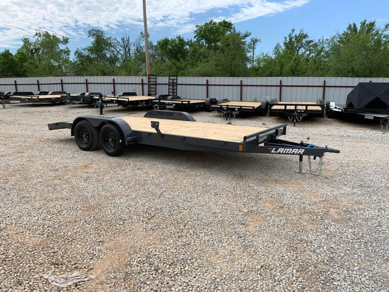 "2021 Lamar Trailers CE 18' X 83"" WOOD FLOOR CAR HAULER"