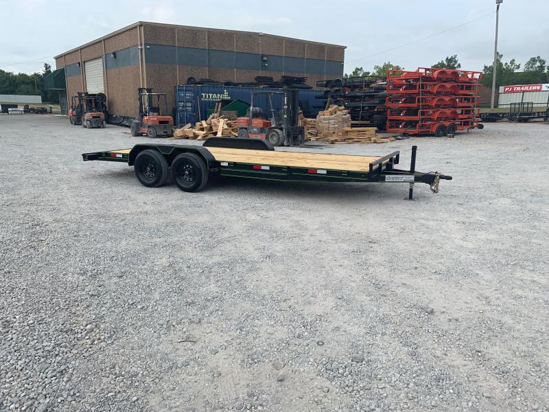 2021 Rockin S 20 X 83 TANDEM AXLE WOOD FLOOR CAR HAULER