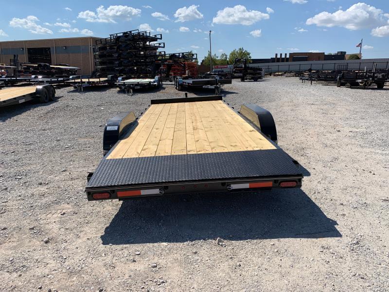2021 MP Custom 20 X 83 TANDEM AXLE WOOD FLOOR CAR HAULER