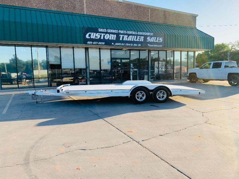 "2021 102 Ironworks 20' X 83"" CHALLENGER STEEL FLOOR CAR HAULER"