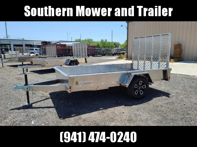 2021 Belmont AIR7310 10' Aluminum Utility Trailer