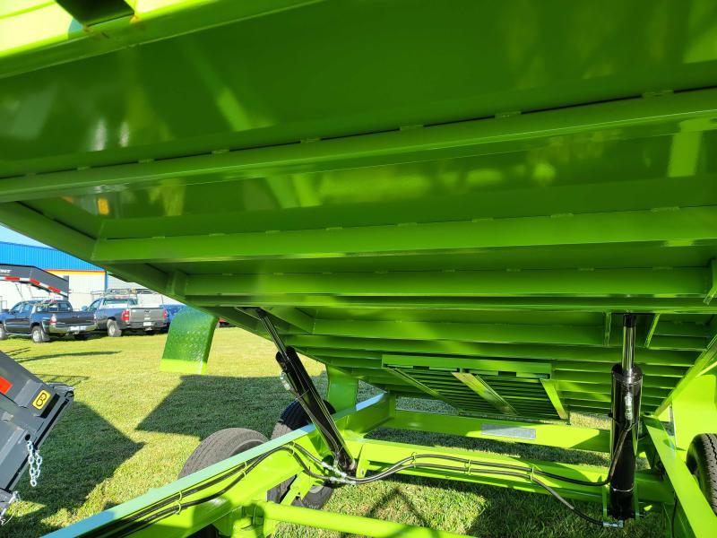 2021 Belmont DTX8114-14K Tall Side Dump Trailer
