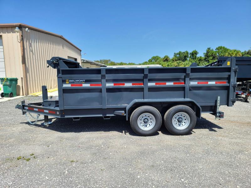 2021 Belmont 81X14 Low Profile Dump Trailer 14K LB GVWR