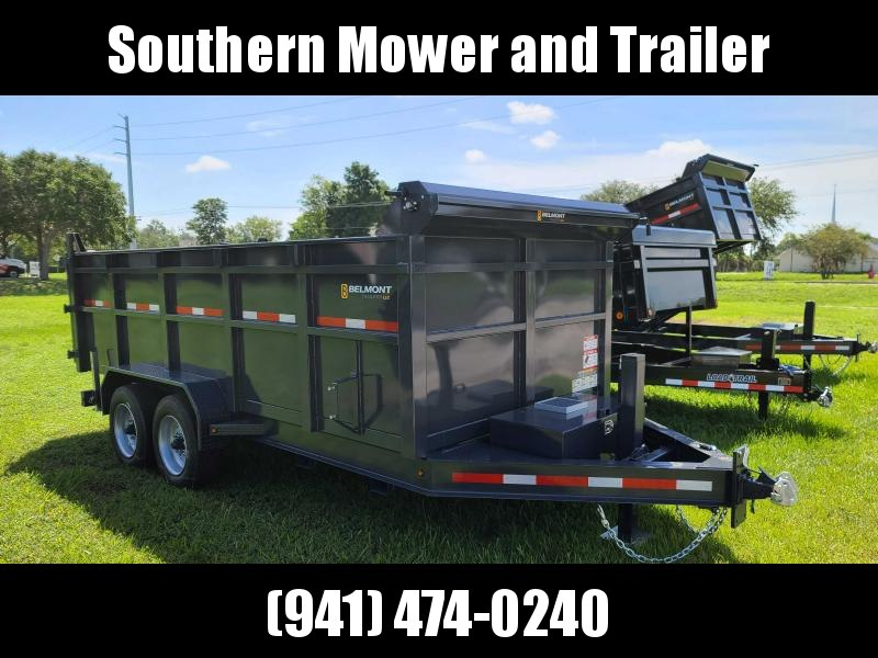 New Belmont DTX8116-16K 16' Dump Trailer 16000 LB GVWR Tall sides