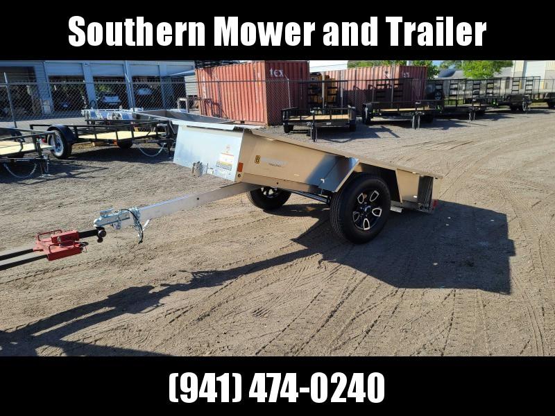 2021 Belmont AIR5108 8' Aluminum Utility Trailer Utility Trailer