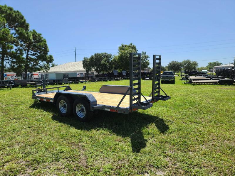 2021 Belmont 82X16 Equipment Trailer 14K LB GVWR