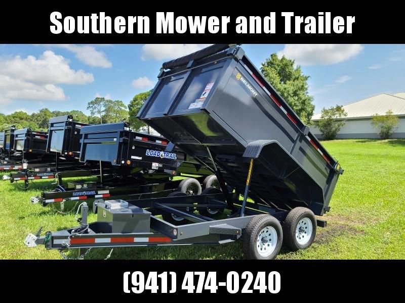 """Belmont DTL7210-7K 10' Dump Trailer W 36"""" Tall Sides"""