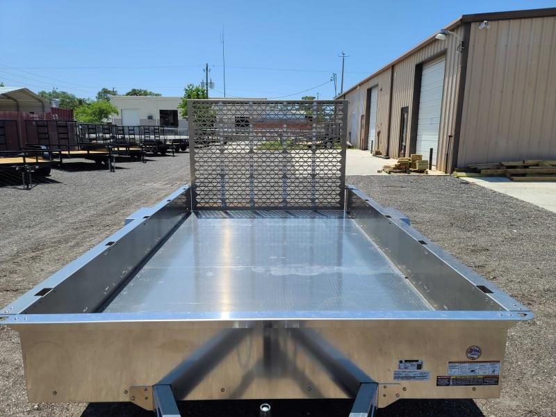 2021 Belmont AIR8112 12' Aluminum Utility Trailer