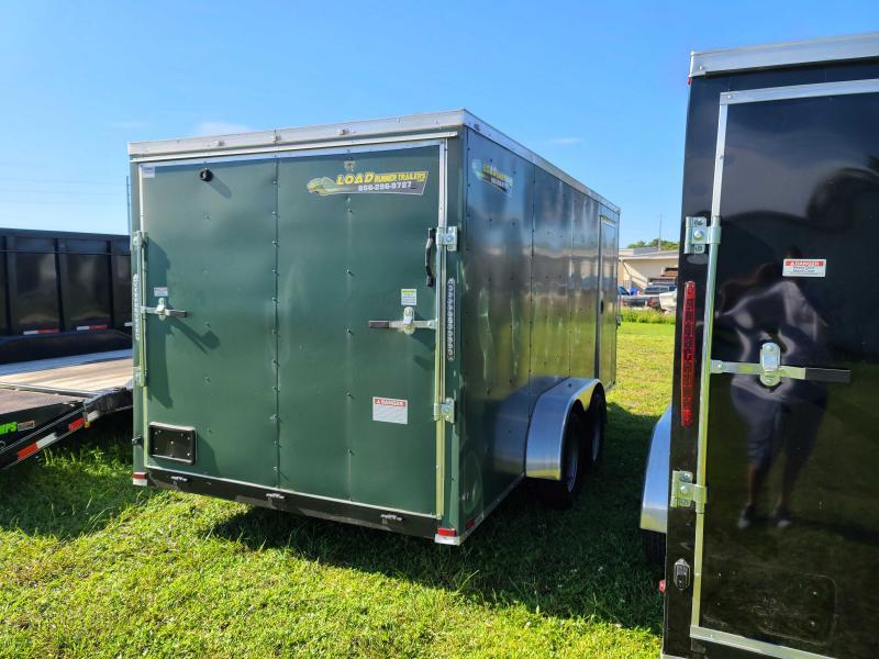 Used 2021 Quality Cargo 7X16 Enclosed Cargo Trailer