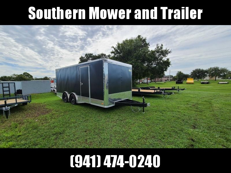 2021 Covered Wagon Trailers 8.5X20 Extra Tall Enclosed Cargo Trailer