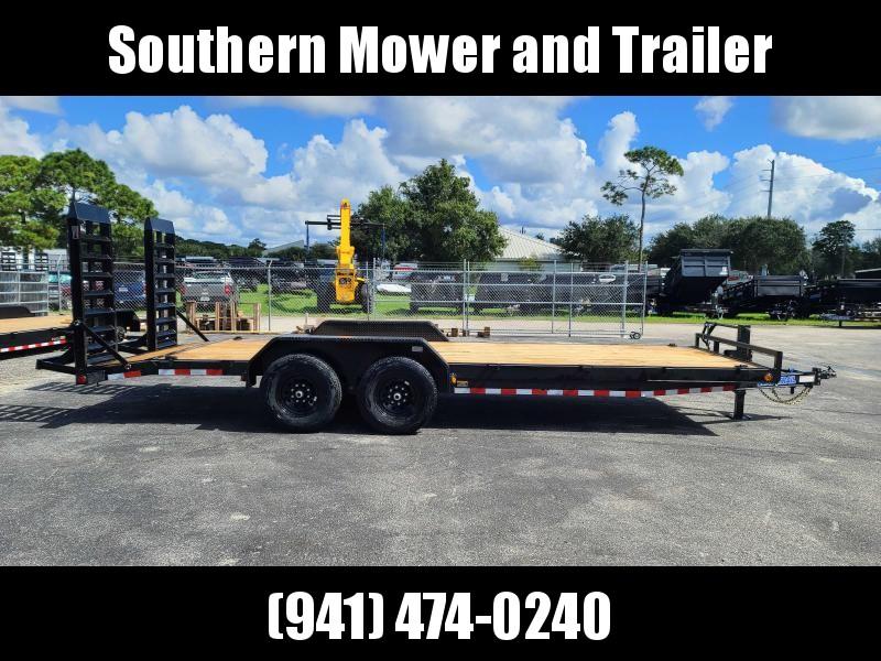2022 Load Trail 83X22 Equipment Trailer 14K LB GVWR Flatbed