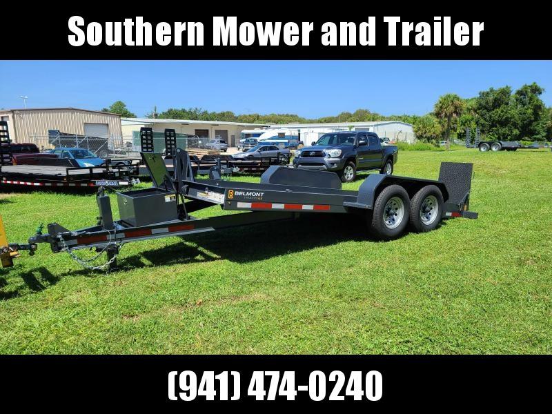 2021 Belmont 80X16 Power Tilt Equipment Trailer 14K