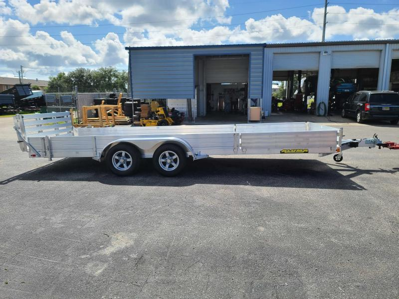2022 Aluma 8120 Aluminum Utility Trailer 20' ATV UTV
