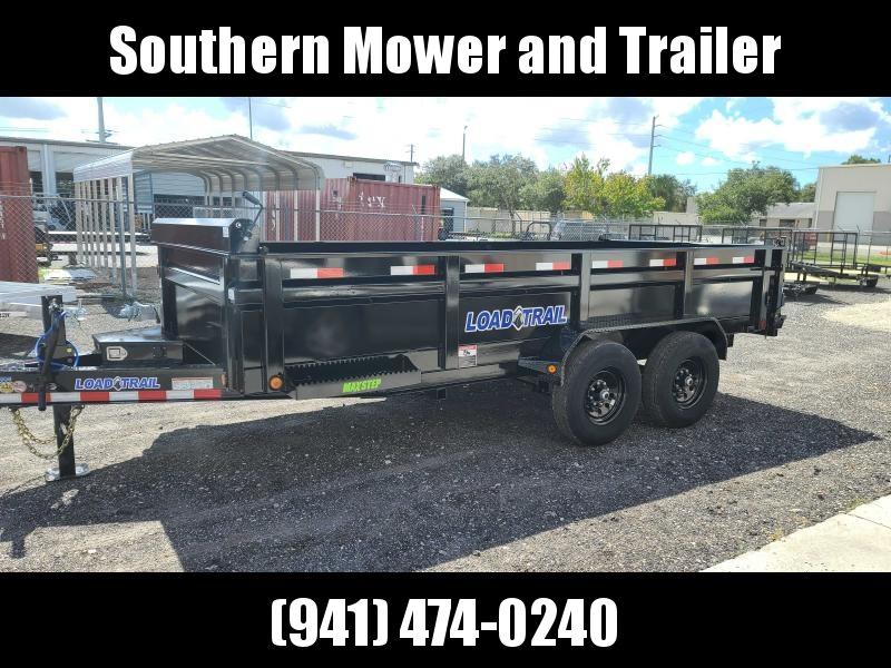 2022 Load Trail 83X16 Dump Trailer 14000 LB W/ Ramps & Tarp