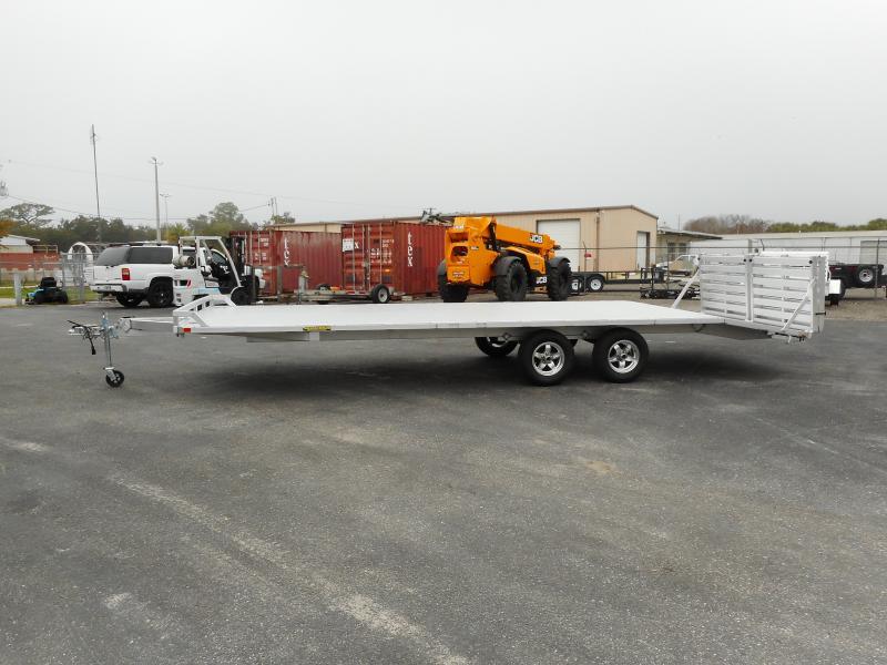 2021 Aluma 1024TA-BT-DT-RR-RTD Utility Trailer