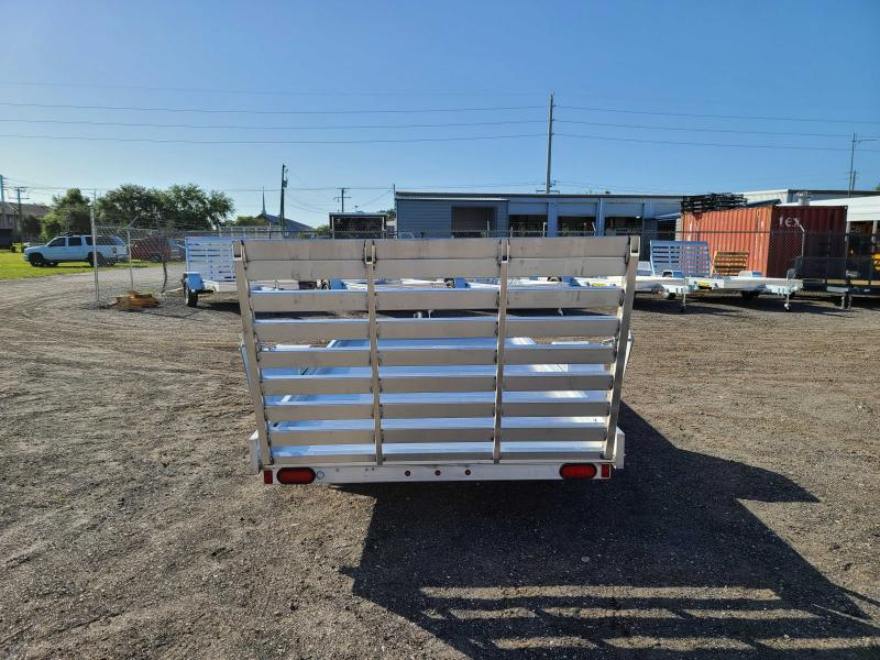 2022 Aluma 6812H-S-TG Aluminum Utility Trailer