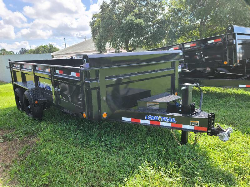 2022 Load Trail 83X16 Dump Trailer 14000 LB GVWR