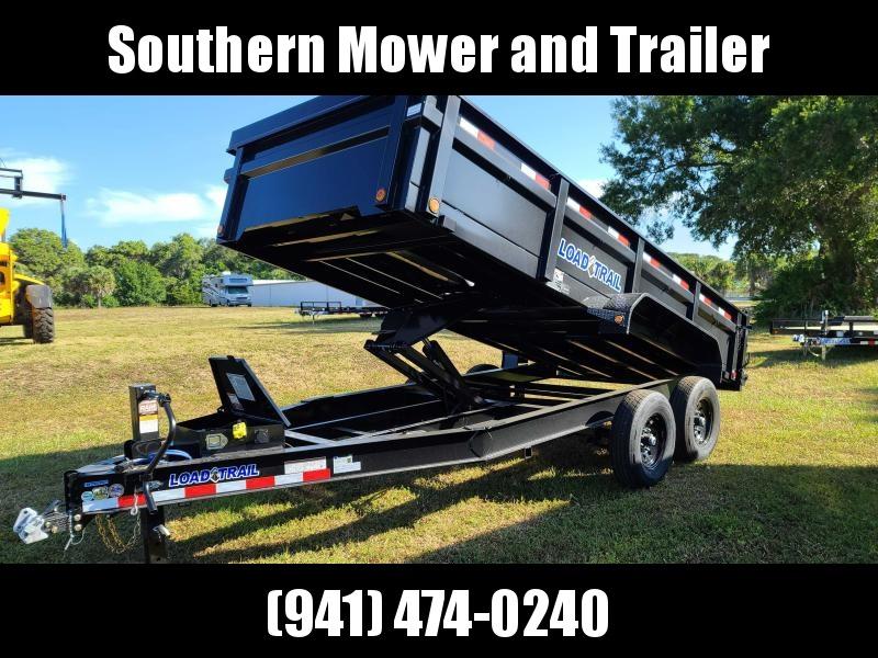 2021 Load Trail DT8316072 16' Dump Trailer