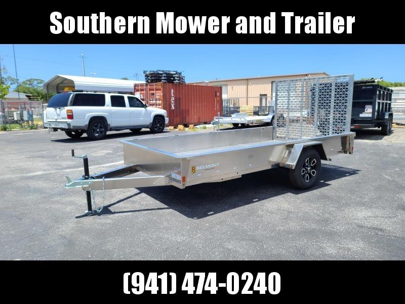 2021 Belmont AIR7312 12' Aluminum Utility Trailer