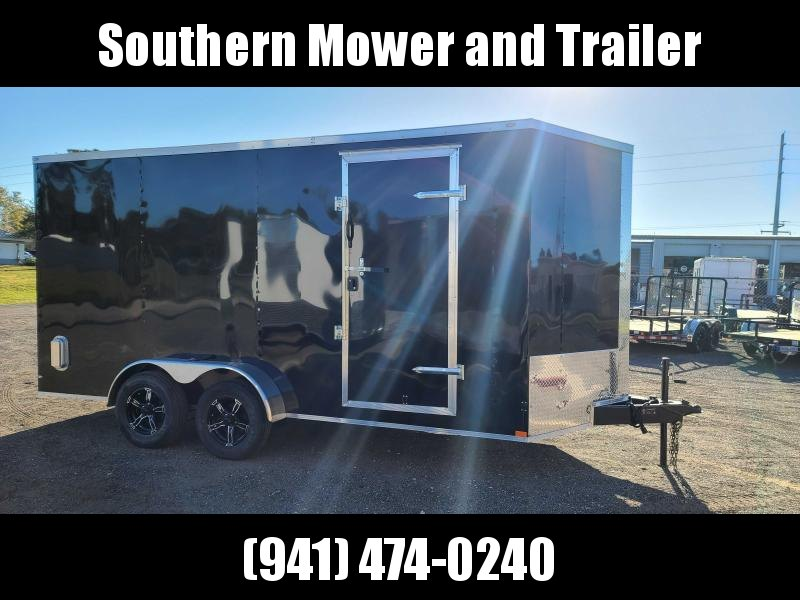 2021 Lark 7X16 Extra Tall Enclosed Cargo Trailer
