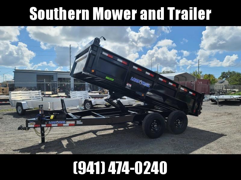 New Load Trail 83X14 Dump Trailer 14K LB GVWR W/ Ramps, Tarp